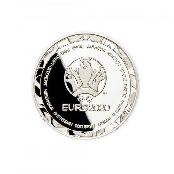 """Offiziell lizensierte """"Schiedsrichtermünze"""" zur UEFA EURO 2020™"""