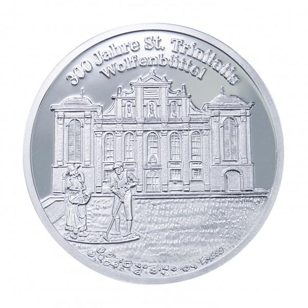 300 Jahre St. Trinitatis Wolfenbüttel, Feinsilber 999
