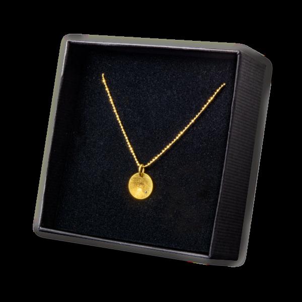 Goldkette mit Diamant