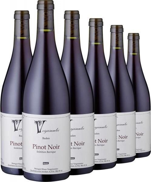 "2014 Pinot Noir trocken ""Barrique"", Weingut Vorgrimmler"