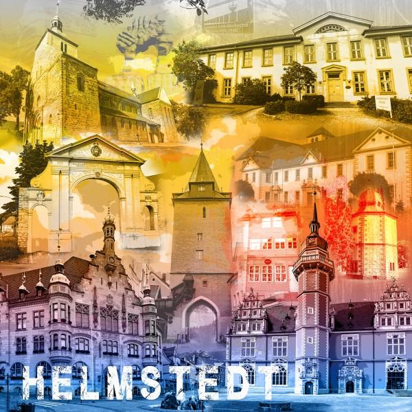 Stadtcollage Helmstedt 50x50