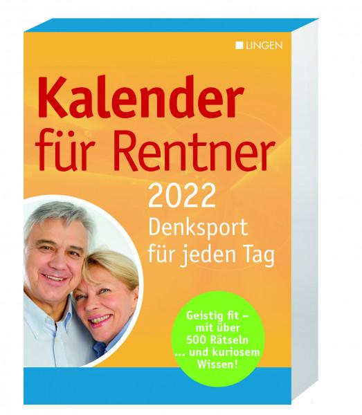 Kalender für Rentner 2022